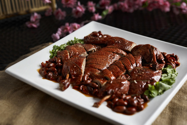 CNY2018_TheWestinKL_Braised Duck with Red Yeast Rice and Peanut
