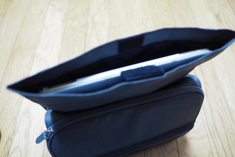 9406f54cd0f8 49歳誕生日プレゼントひらくPCバッグnanoのびるポケットにiPad Pro 12