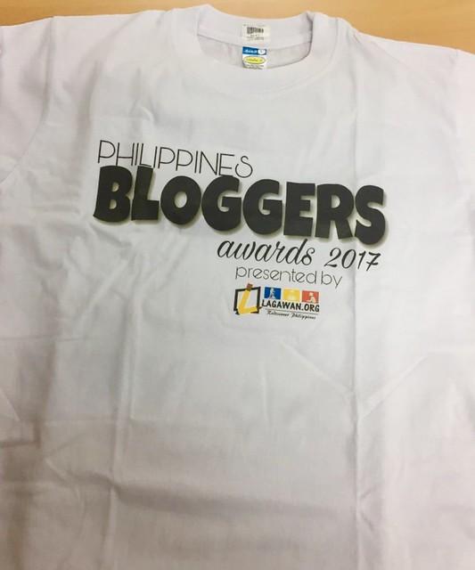 Philippines Bloggers Awards t-shirt