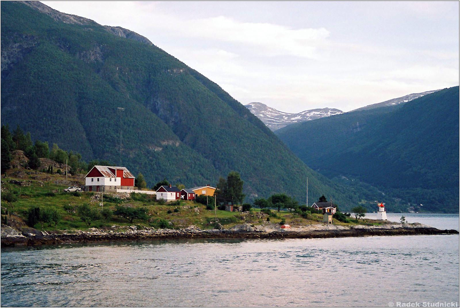 Domki nad Sognefjord