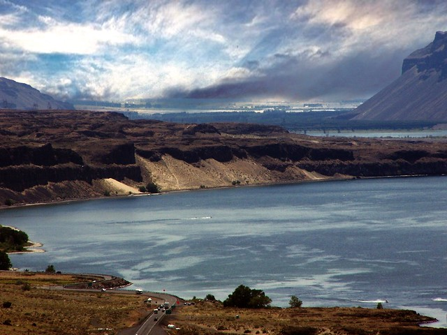 Vantage Bridge ~ Columbia River in Washington State ~ Series Going Home To Toronto Canada