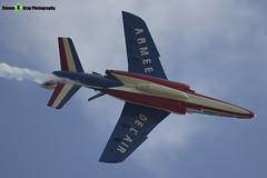 E73 5 F-TENE - E73 - Patrouille de France - French Air Force - Dassault-Dornier Alpha Jet E - RIAT 2013 Fairford - Steven Gray - IMG_4200
