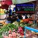 Vegetable stall, Brixton Market