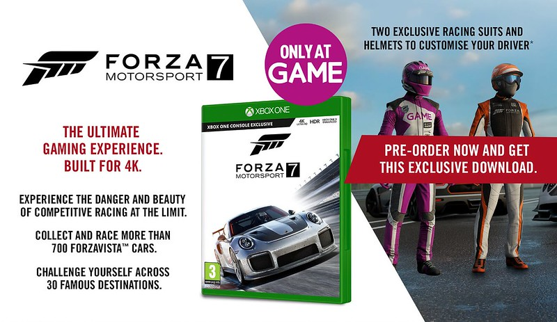 Contest and Gift list for FM7 - Forza Motorsport 7