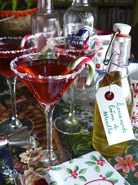 candy cane martinis 1