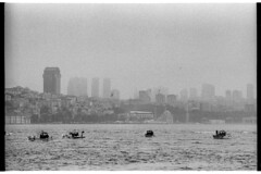 Boats and city