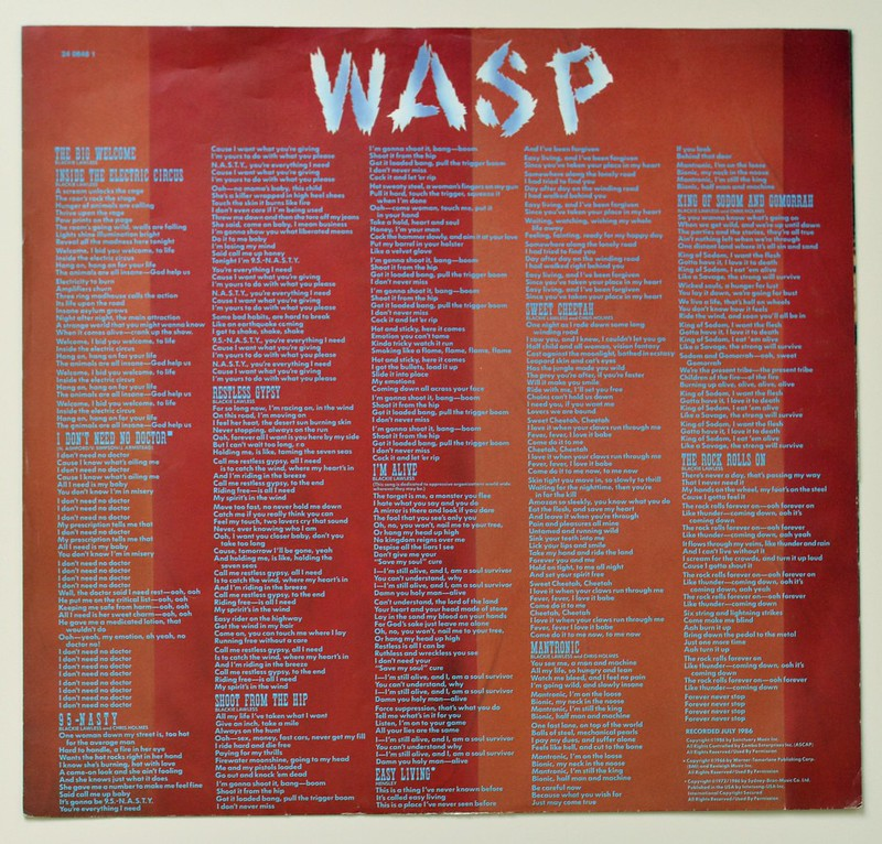 A0517 WASP Inside the Electric Circus