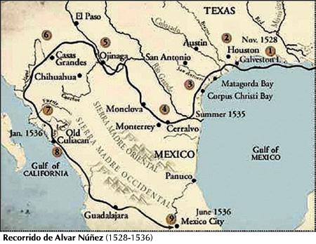 Ruta Alvar Núñez Cabeza de Vaca