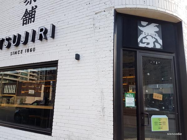 Tsujiri North York storefront