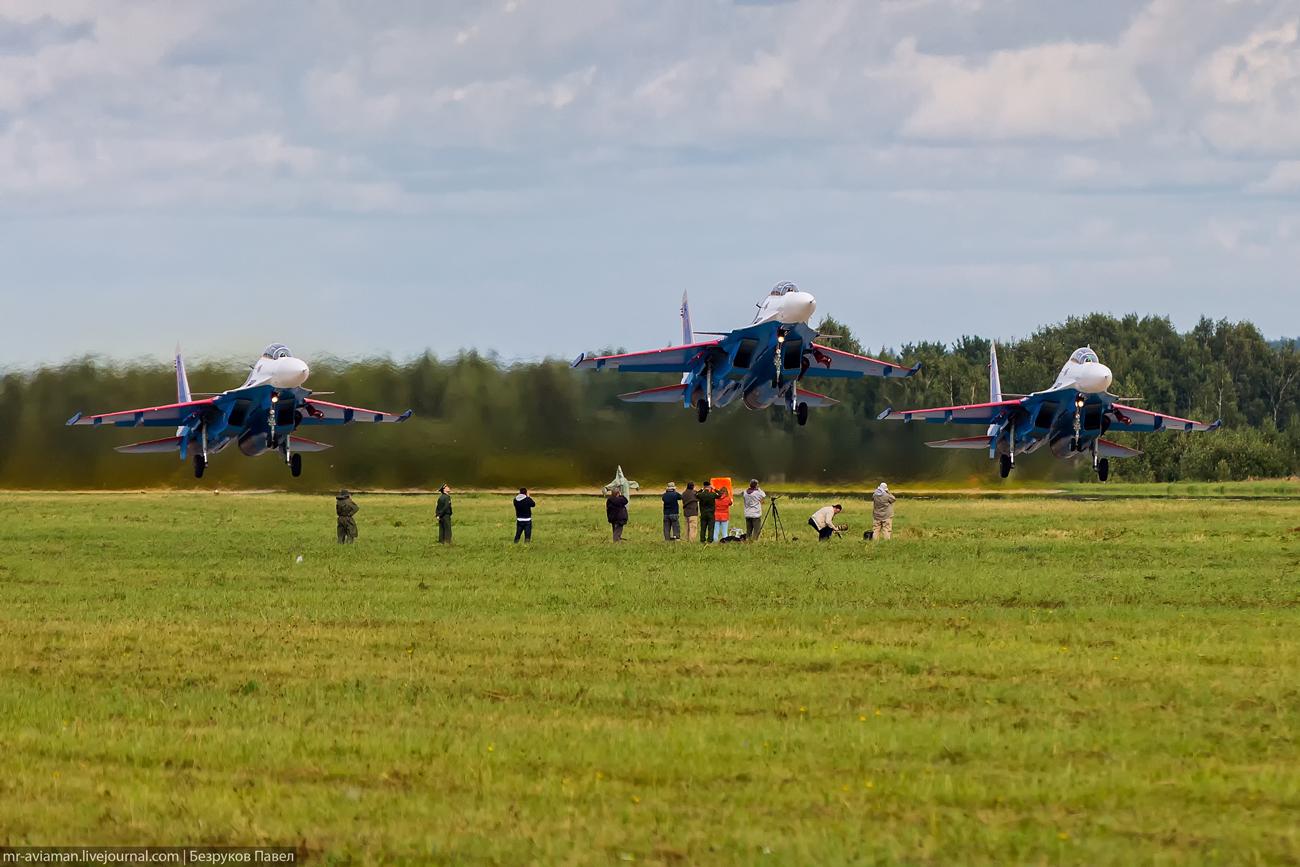 "Su-30SM ""Russian Knights"""