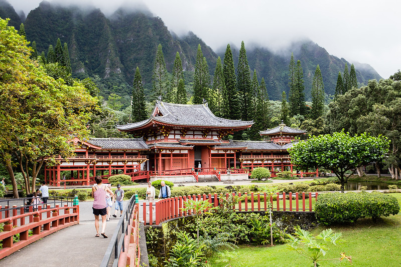 Byodo-In Temple - Oahu - Hawaii