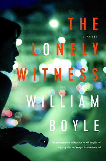 The Lonely Witness Hardcover by William Boyle  book cover photo by Edward Olive professional art photographer in Madrid Spain