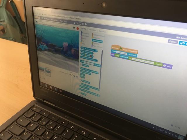 Lessen 'programmeren' met Codeschool