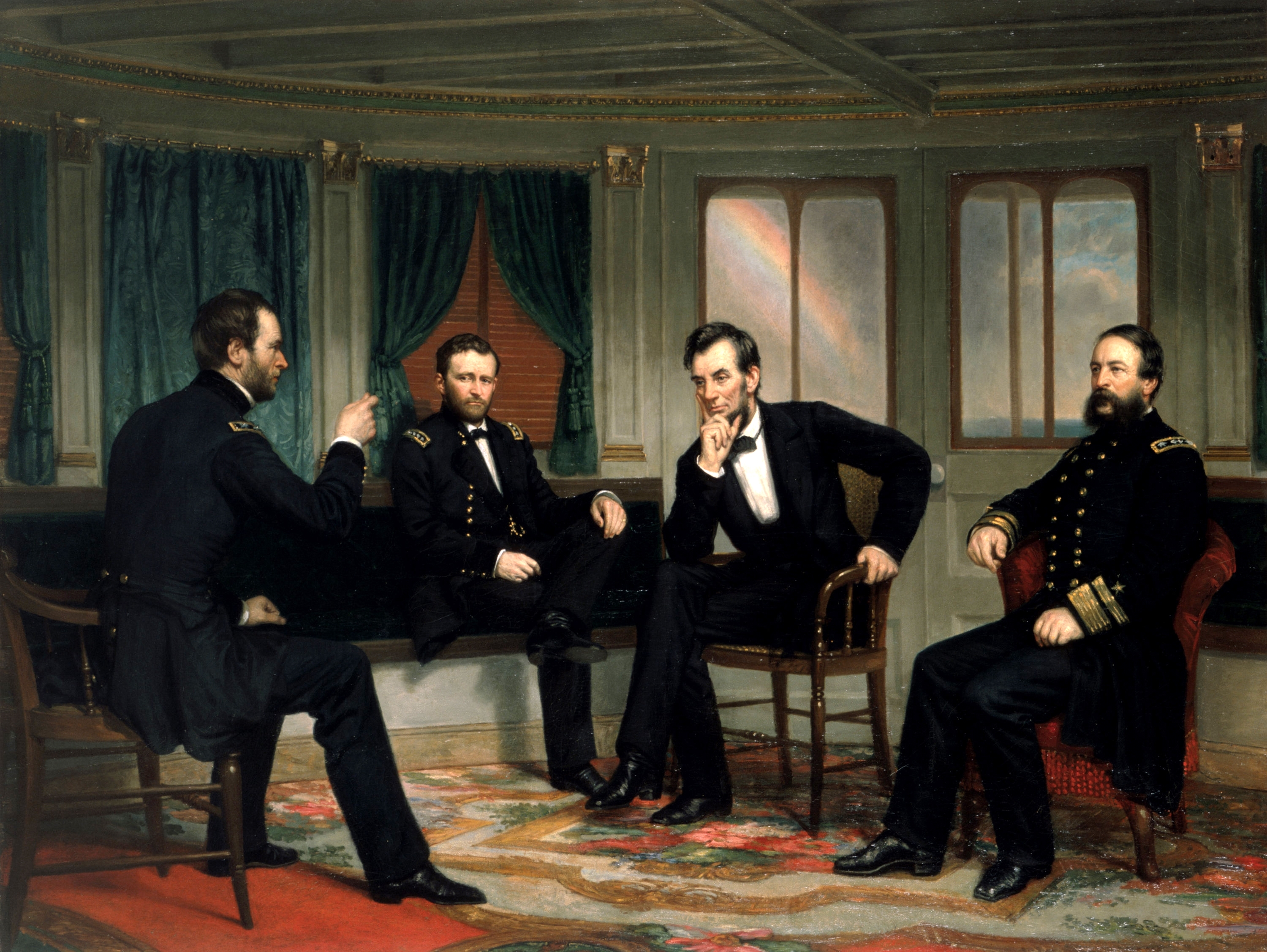 White House copy of the lost 1868 painting,