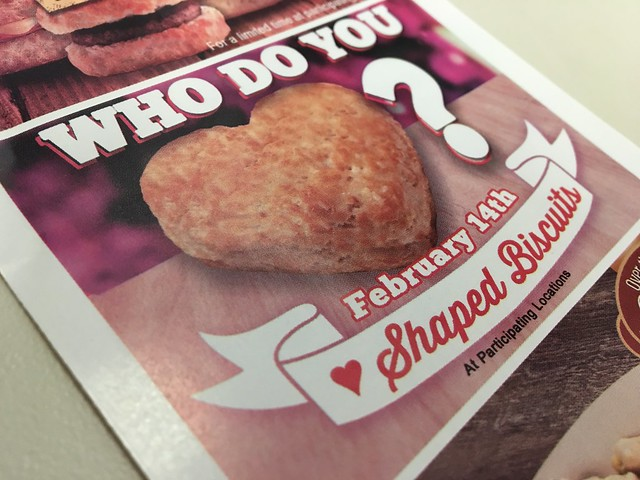 Tudors heart biscuit