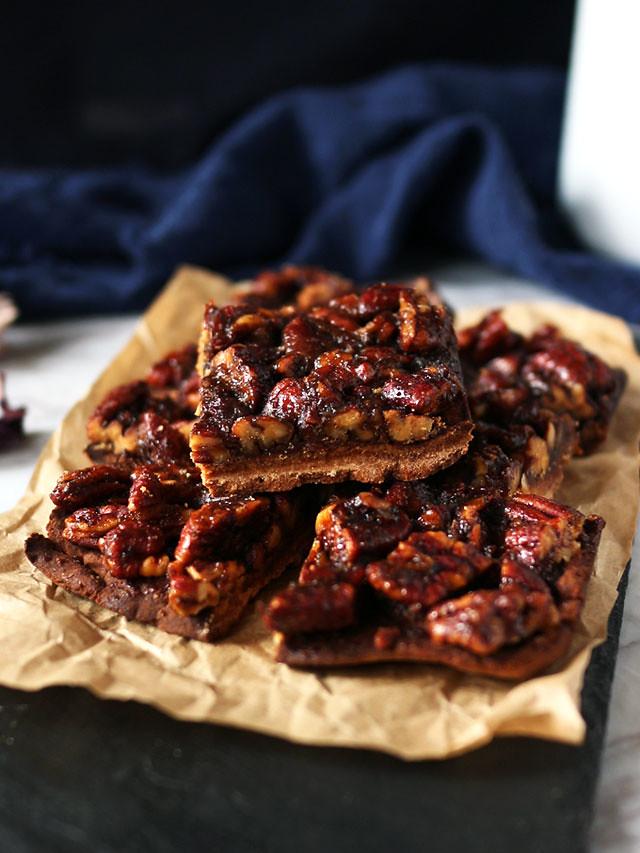 全素焦糖胡桃方塊 vegan-caramel-pecan-bars (2)