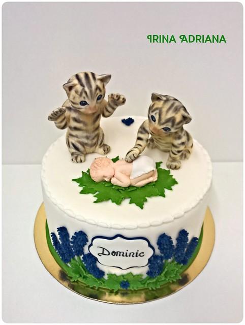 Christening Cake by Irina Adriana