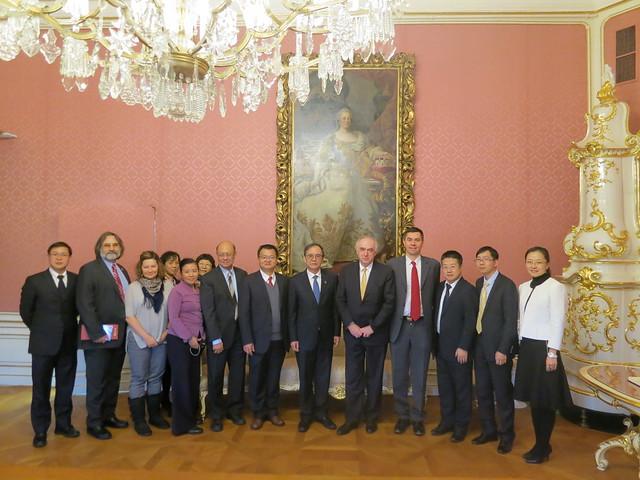 18.01 President of Peking University visits IIASA