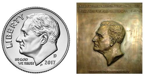 Sinnock and Burke Roosevelt designs