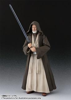 重現超經典的師徒大對決~! S.H.Figuarts《星際大戰四部曲:曙光乍現》歐比王·肯諾比(老班) Obi-Wan Kenobi(Old Ben) ベン・ケノービ(A NEW HOPE)