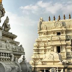 From my Instagram: The Temple. #Travel #Hindu #India #Bangalore #Krishna #SriRadhaKrishna #architecturephotography #Ancient