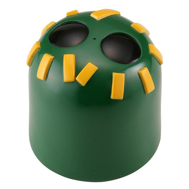 海洋堂 Sofubi Toy Box 019 A/B 岡本太郎「拒絕被坐的椅子 朱色、綠色」(ソフビトイボックス 坐ることを拒否する椅子 朱、緑)