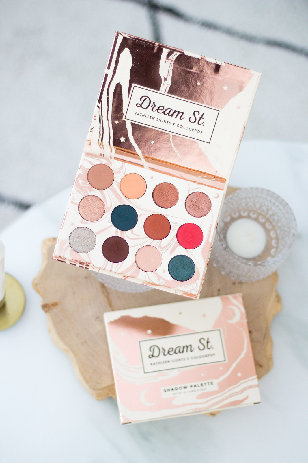 colourpop dream st kathleen lights blog