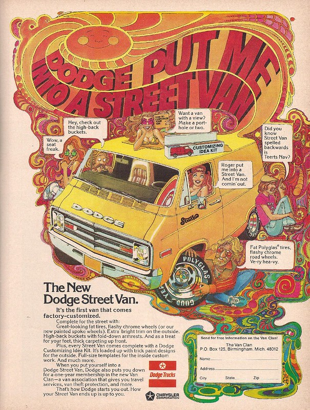 Dodge Street Van 1976