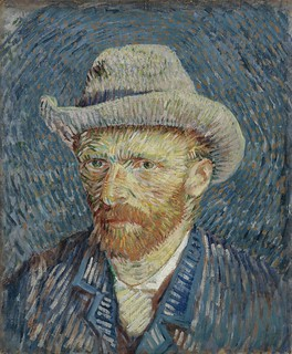 Van Gogh Self Portrait with Grey Felt Hat