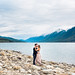 Engagement Session at Kinbasket Lake, Valemount BC