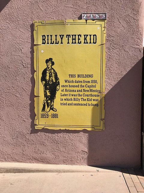 Las Cruces - La Mesilla Billy the kid poster