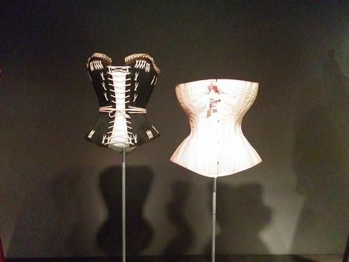 Corsets #newyorkcity #newyork #manhattan #fashion #museumatfit #fashionandphysique #corset #latergram
