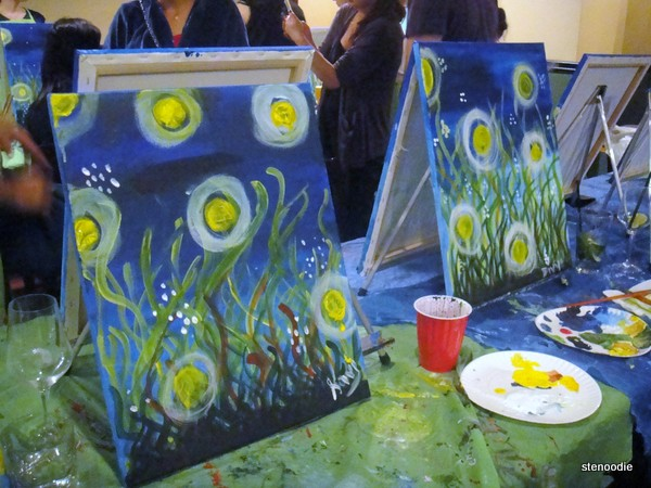 Paint Nite in Toronto