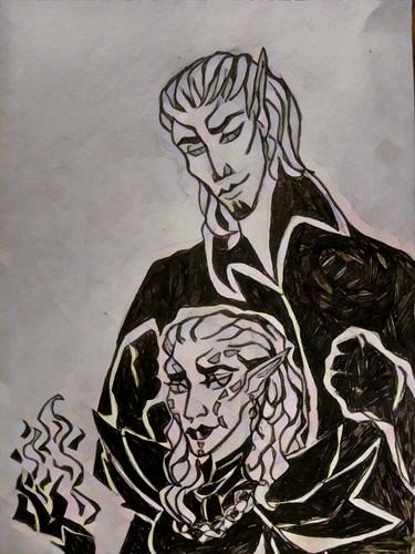 Хостес и Вегра (ink)