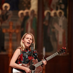 Tue, 20/02/2018 - 1:44pm - The trio of Sara Watkins, Sarah Jarosz and Aoife O'Donovan play for WFUV listeners at the Fordham University Church in NYC, 2/20/18. Hosted by John Platt. Photo by Gus Philippas/WFUV