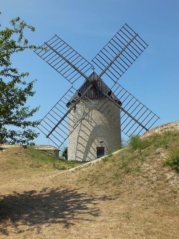 Castelnau-Montratier - Moulin à vent de La Mairie (ou de La Malaudie)
