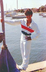 Sydney 1982 flying high enjoying life