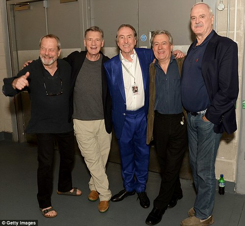 Absolutely Anything - Monty Python - Terry Gilliam, Michael Palin, Eric Idle, Terry Jones and John Cleese