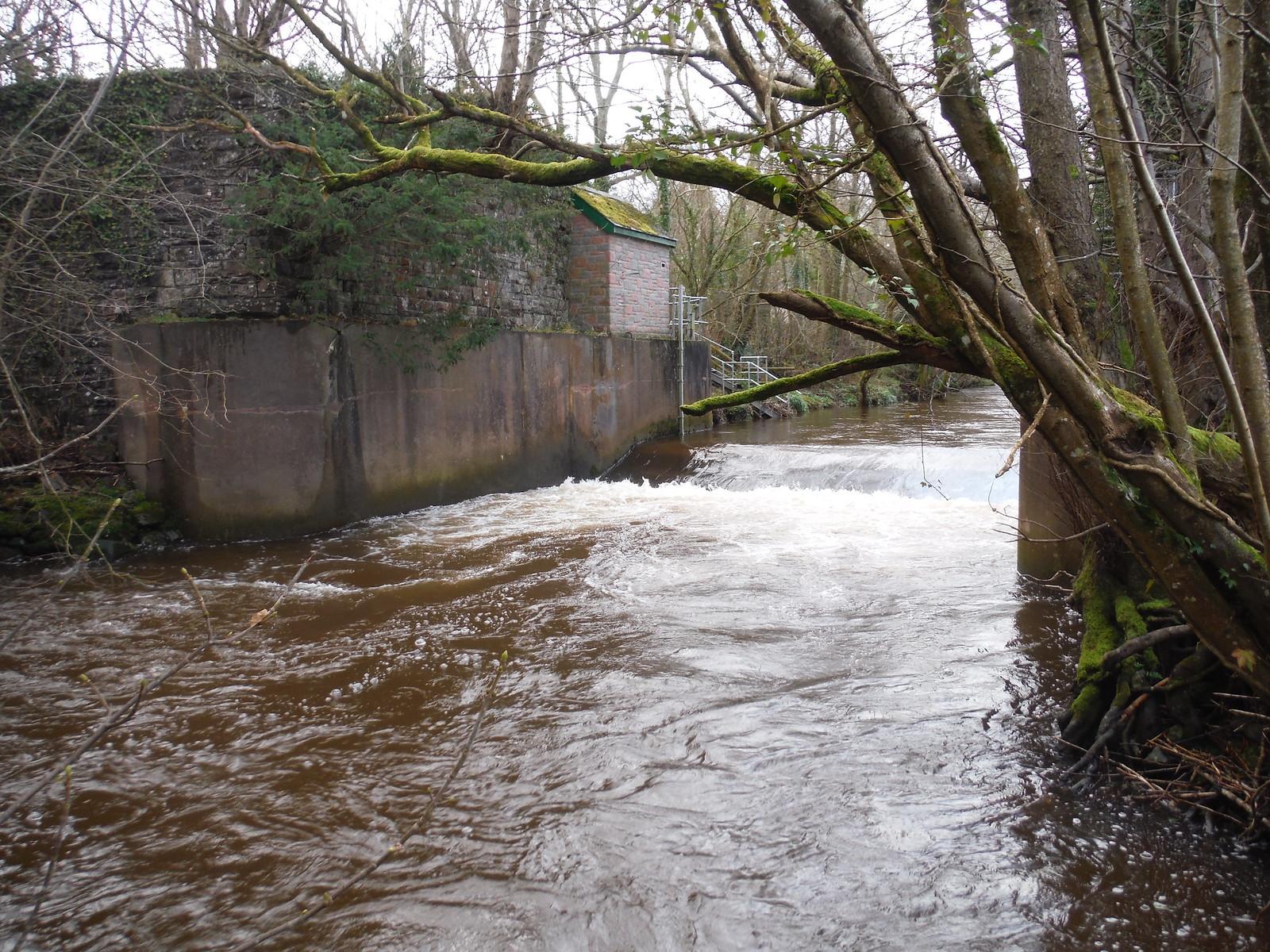 Remains of Old Railway Bridge, Ysgir River SWC Walk 306 - Brecon Circular (via Y Gaer, Battle and Pen-y-crug)