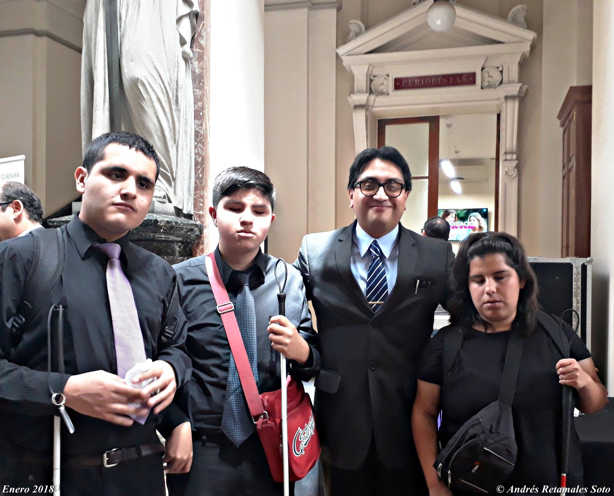 Orquesta Sonidos de Luz y Andrés Retamales, Palacio de Tribunales, Santiago de Chile, Enero 2018