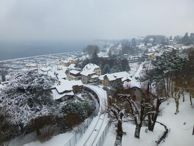 03.01.18.Thonon sous la neige, Panasonic DMC-TZ30