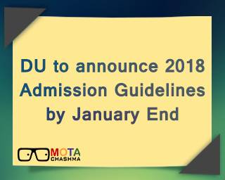 DU Admission Guidelines