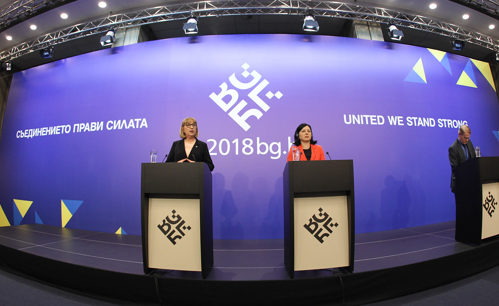 Informal JHA meeting (Justice): Press conference