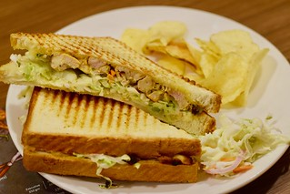 chicken coleslaw sandwich