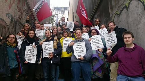 Campagne de solidarité pour la libération de Mohamed Satti