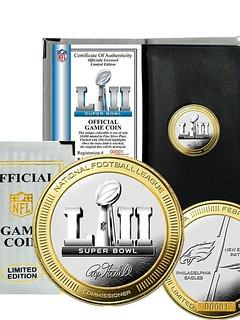 2018 Suoer Bowl flip coin