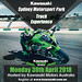 Kawasaki Team Green Australia Track Event at Sydney Motorsport Park – 30th April 2018 – Registrations Now Open