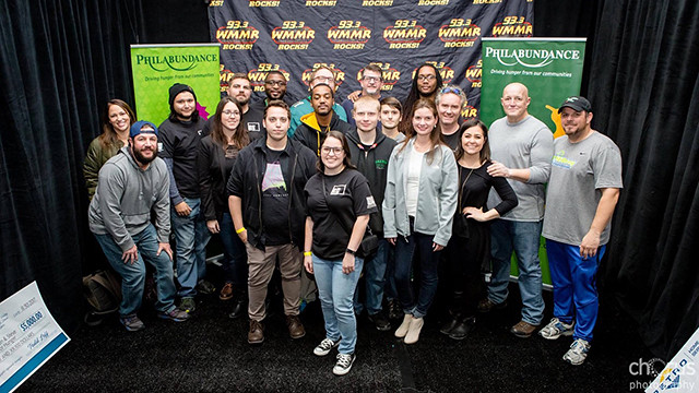 Eleven students from WilmU's game design and development program presented their virtual reality project on WMMR's Preston & Steve Show during its recent