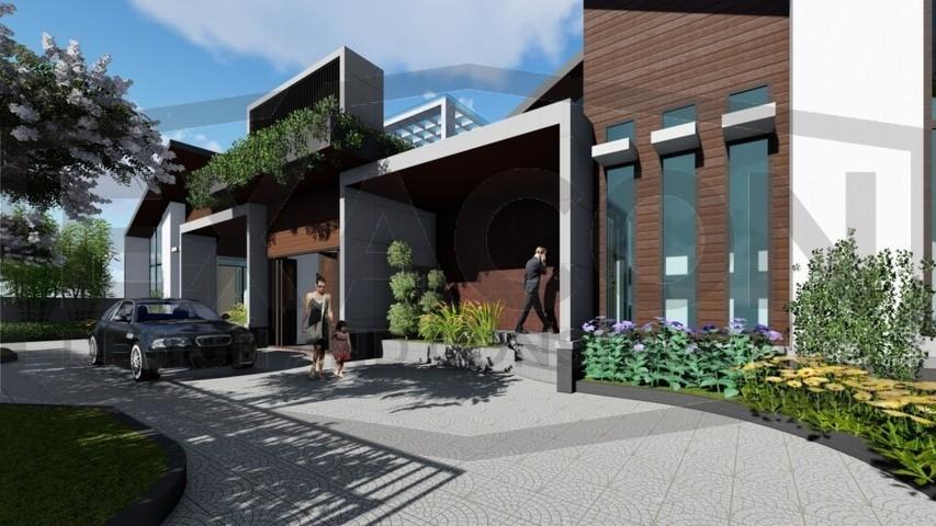 Proyek II Rumah Minimalis Modern Bapak Rafa - Depok 2 EXACON, Jasa Desain Arsitektur Rumah Minimalis di Jakarta