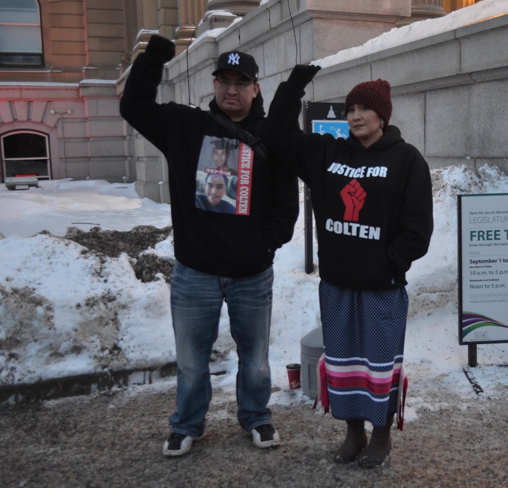 Standing in Solidarity with Colten Boushie's Family